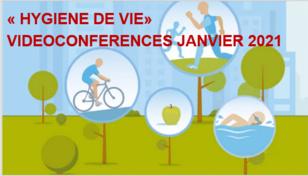 Vidéoconférence «Hygiène de vie» en janvier 2021