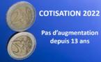 En 2021 la MEMF n'augmente toujours pas ses cotisations